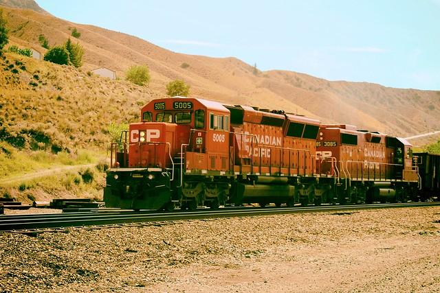 CP, Ashcroft, B.C.