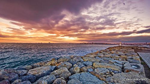 bosphorus istanbul jetty kadıköy landscapephotographer naturephotographer sunset türkiye