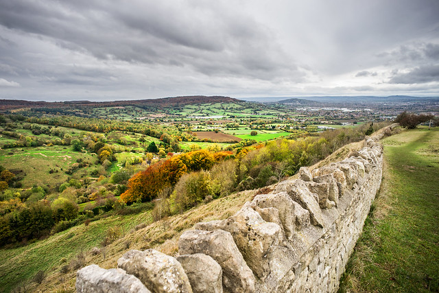 Crickley Hill, Cotswolds, Gloucestershire