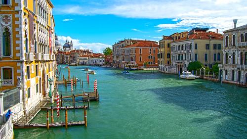 The Grand Canal, Academia, Venice