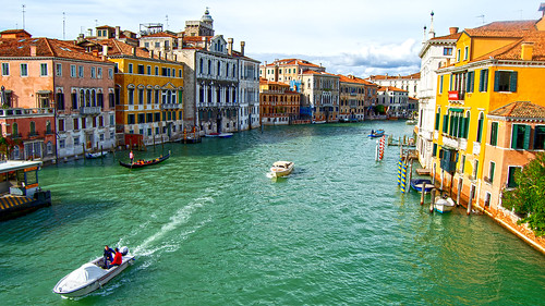 The Grand Canal From Academia Bridge, Venice