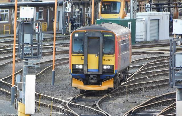 153326 - Tyseley Yard, West Midlands