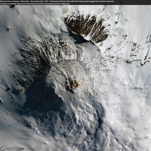 Mount Erebus Volcano, Antarctica - November 9th, 2019 | by Pierre Markuse