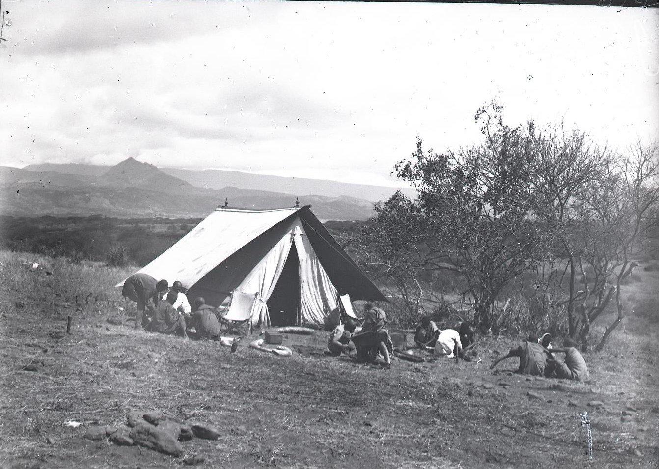 614. Наш лагерь в верха