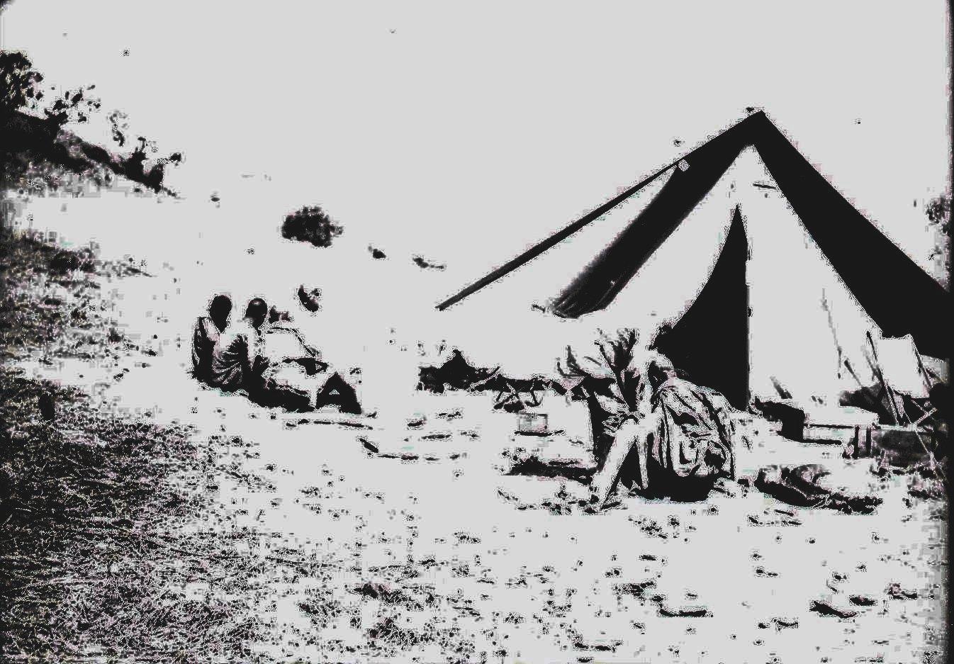 606.  Лагерь охотников