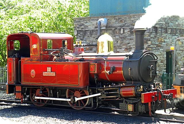 IOM steam loco Hutchinson