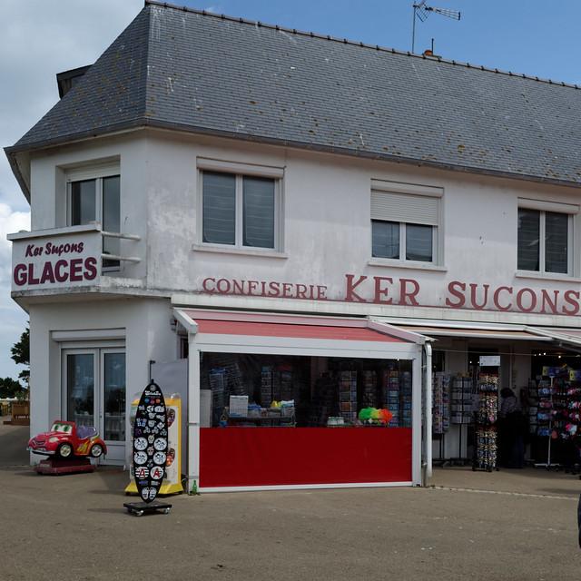 Confiserie Ker Suçons à Saint-Quay.