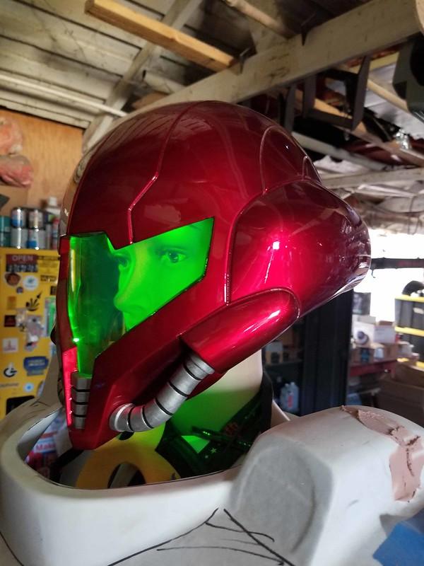 Samus Helmet Progress 003
