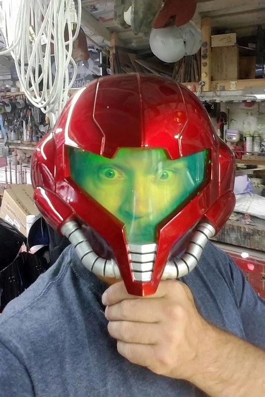 Samus Helmet Progress 000