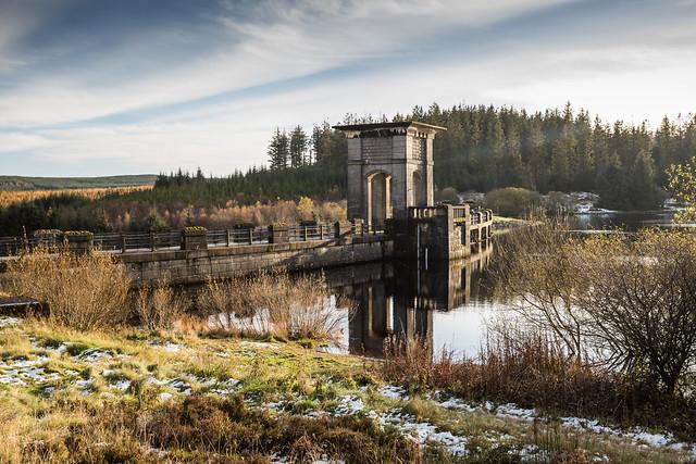 Alwen Reservoir.