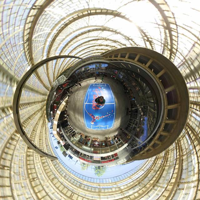 Paris, forum des Halles, 360, 3