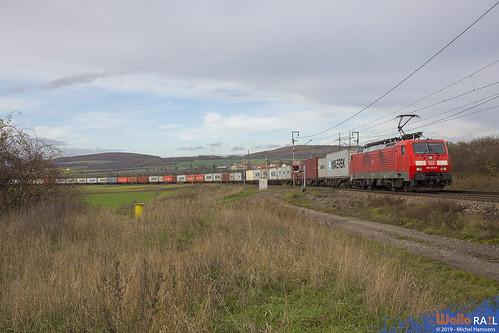 189 059 . DB Cargo . 40737 . Polepy . 05.11.19.