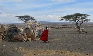 Kenya- Turkana village