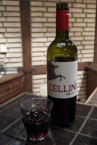 Rotwein der italienischen Traditonsmarke Cellini