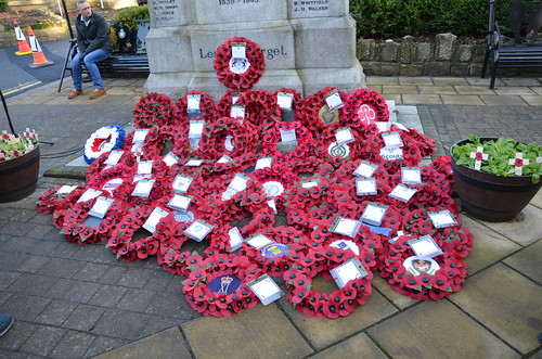 Whickham Remembrance Service 10 Nov 19