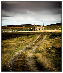 Abandoned House, Lochmaddy, North Uist