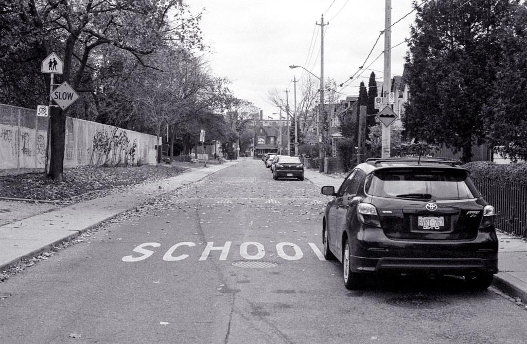Parked Near a School