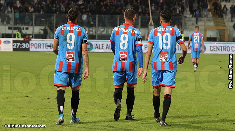 Catania-Sicula Leonzio 2-1: le pagelle dei rossazzurri
