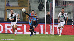 Catanzaro-Catania, ex: 1 a 2 per i rossazzurri