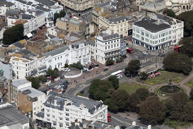 Old Steine Gardens - Brighton aerial image