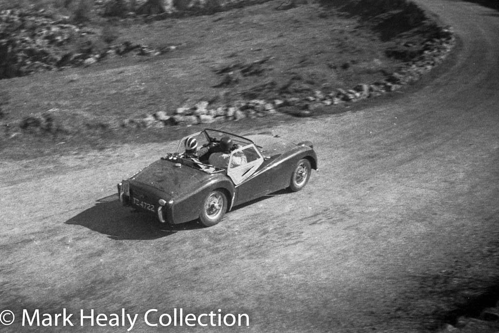 Circuit of Ireland 1956 - Triumph TZ4722