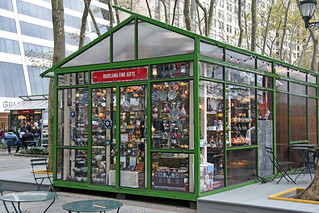 Picture Of The Holiday Shops At Bryant Park In New York For The Holidays. The Holiday Shops Are Open Thursday October 31, 2019 Until Thursday January 2, 2020. Photo Taken Sunday November 10, 2019