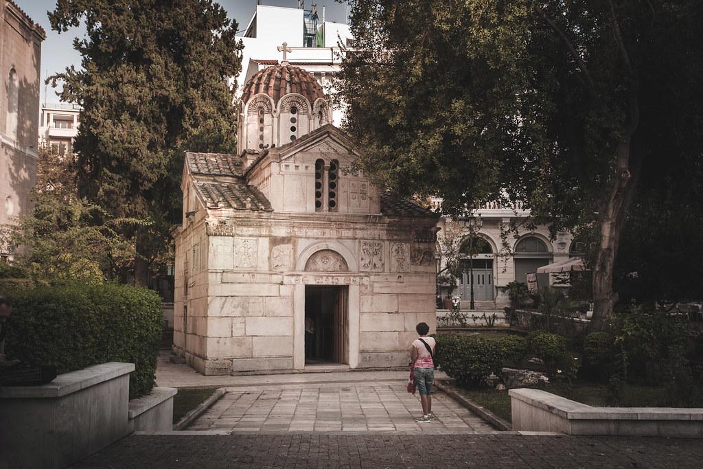 The Little Metropolis, Athens, Greece