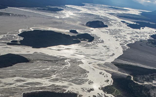 braided Chitina River
