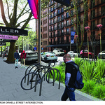 Consultation Board-Macleay Street Upgrade-Visualisation 1