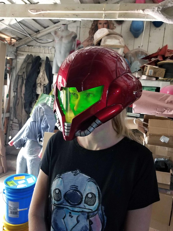 Helmet Finishing Progress 000