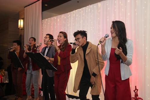 Muzicskool's P-Square sings harmonies of the Yule season