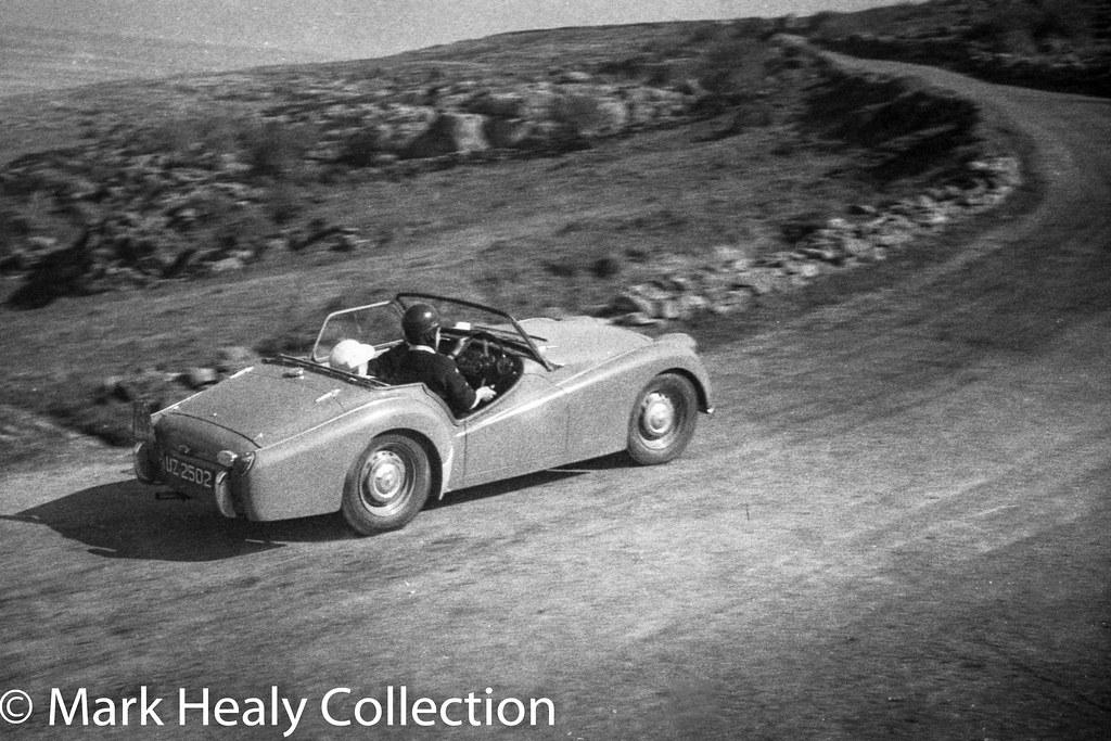 Circuit of Ireland 1956 - Triumph UZ2502