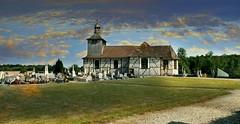 Mathaux (Aube, Champagne, Fr) – Eglise à colombage