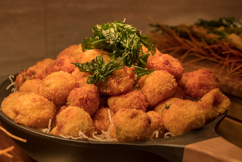 Jalapeno and Sharp Cheddar Croquettes