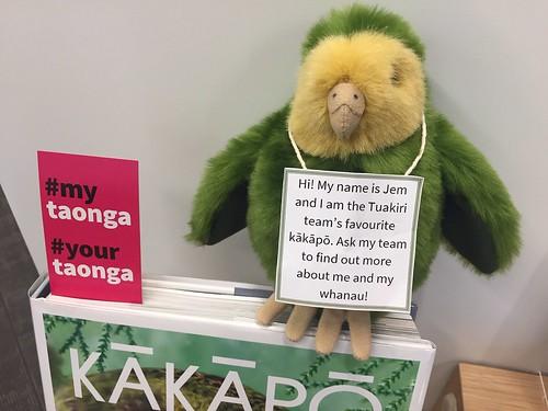 Jem the Tuakiri team adopted Kākāpō
