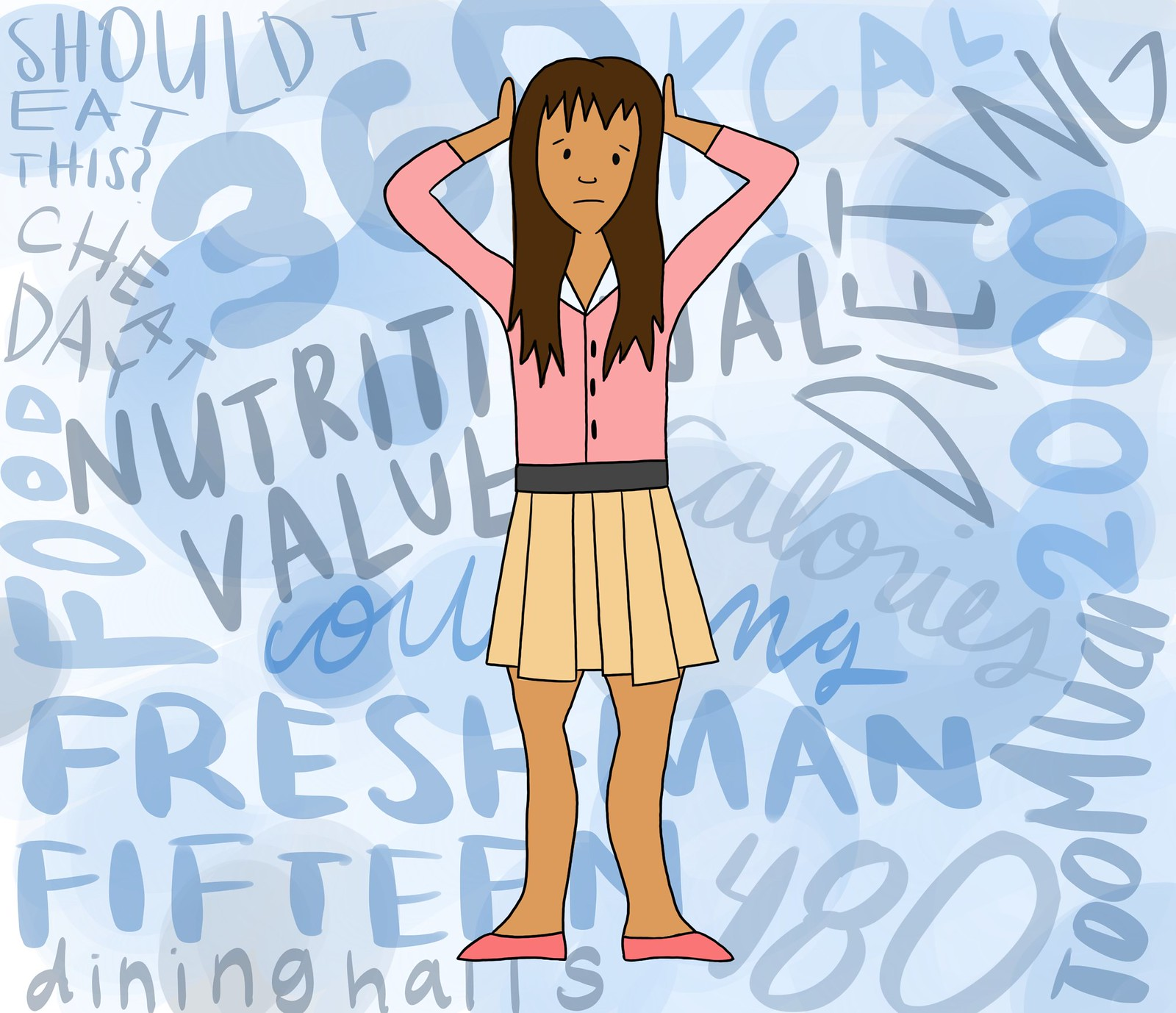 The Freshman 15: Calorie counting and disordered eating in college
