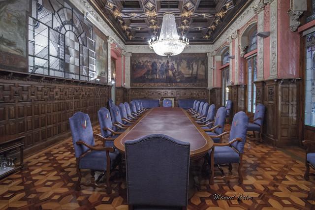 Antiguo Casino Mercantil, Salón de Juntas 01