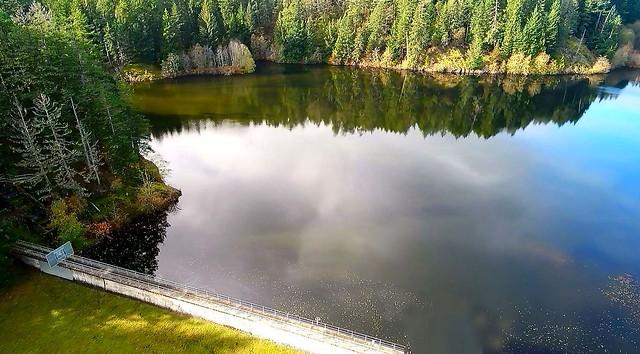 Humpback Reservoir Aerial