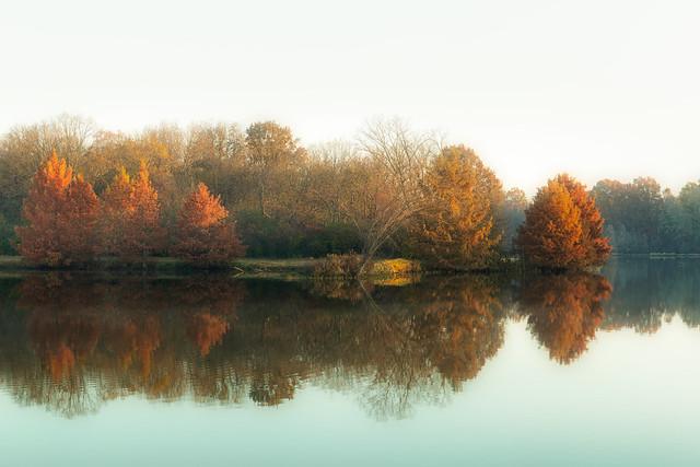 Sunrise on Gopher Lake