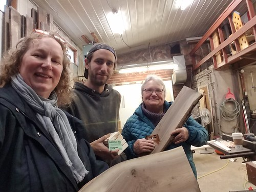At Zen Woodworking: my mom and I got charcuterie boards that Darrin made! From Travel Tips: The Best Place to Experience the Magic of Christmas