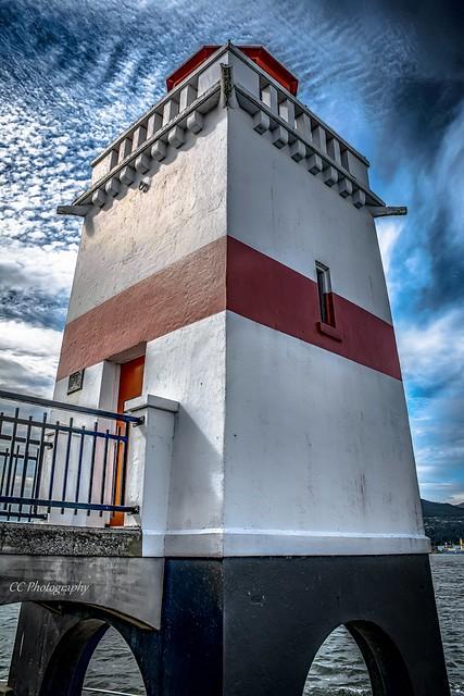 Brockton Point Lighthouse   c.1914
