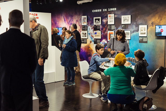 Opening Reception: Ground Control: A Journey Through Chess and Space
