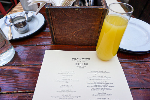 Frontier Brunch- Chicago
