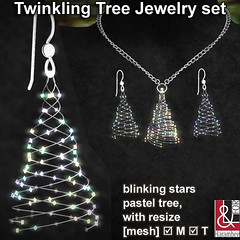 Twinkling Tree Jewelry set
