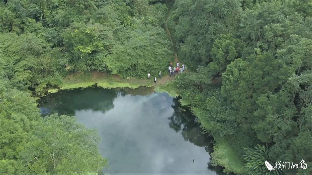社區居民近幾年沿著冷埤周圍做調查,發現了多種的鳳蝶、蜻蜓和豆娘。