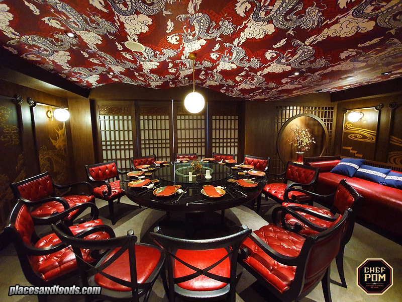 chef pom bangkok vip room