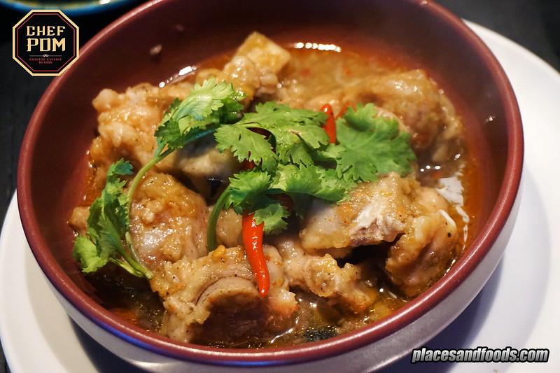 chef pom bangkok steamed pork spare ribs