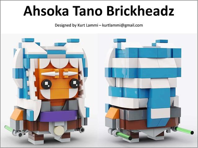 Ahsoka Tano Brickheadz