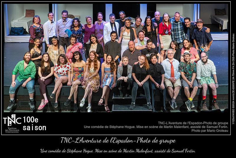 TNC-L'Aventure de l'Espadon-Photo de groupe