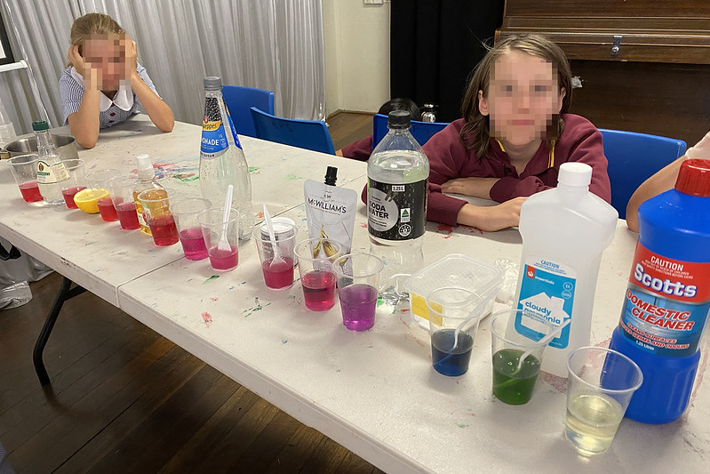 pH experiment